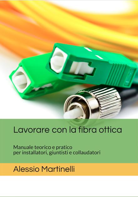Lavorare con la fibra ottica – copertina